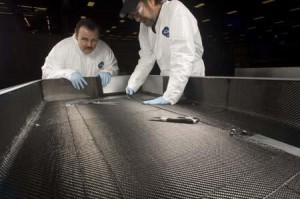 Aviation composites manufacturing layup