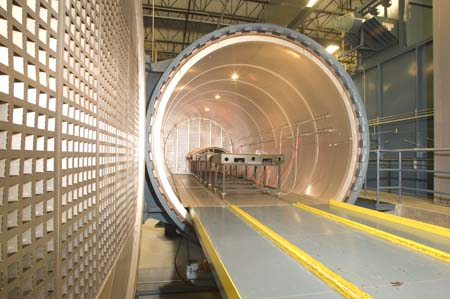 Aviation Composite Autoclave