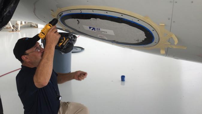 Falcon Landing Light Lens