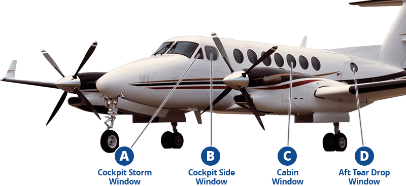 Beechcraft King Air Windows