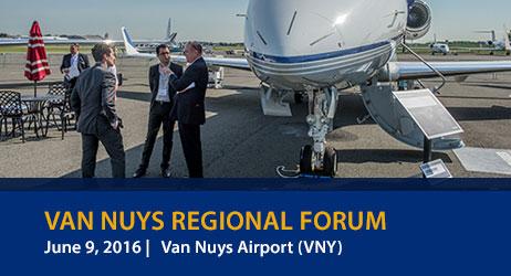 NBAA Regional Forum 2016 Van Nuys