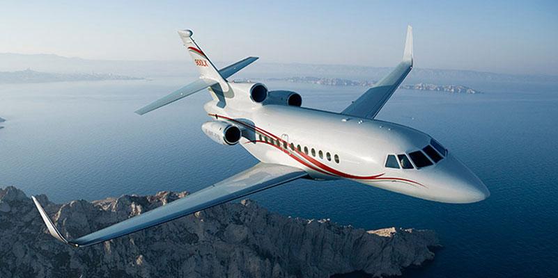 Dassault Falcon replacement landing light lenses