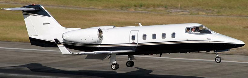Learjet 55/60 cabin windows & windshields