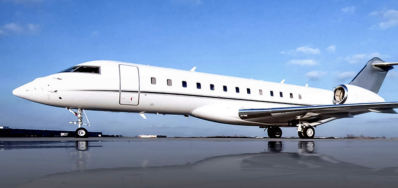 Bombardier Global Express replacement cabin windows