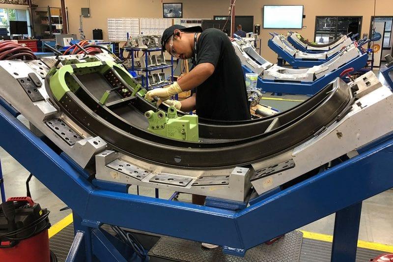 Hondajet aerostructure sub assembly