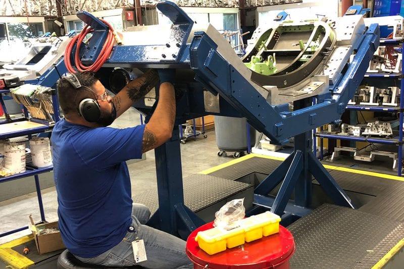 Hondajet sub assembly