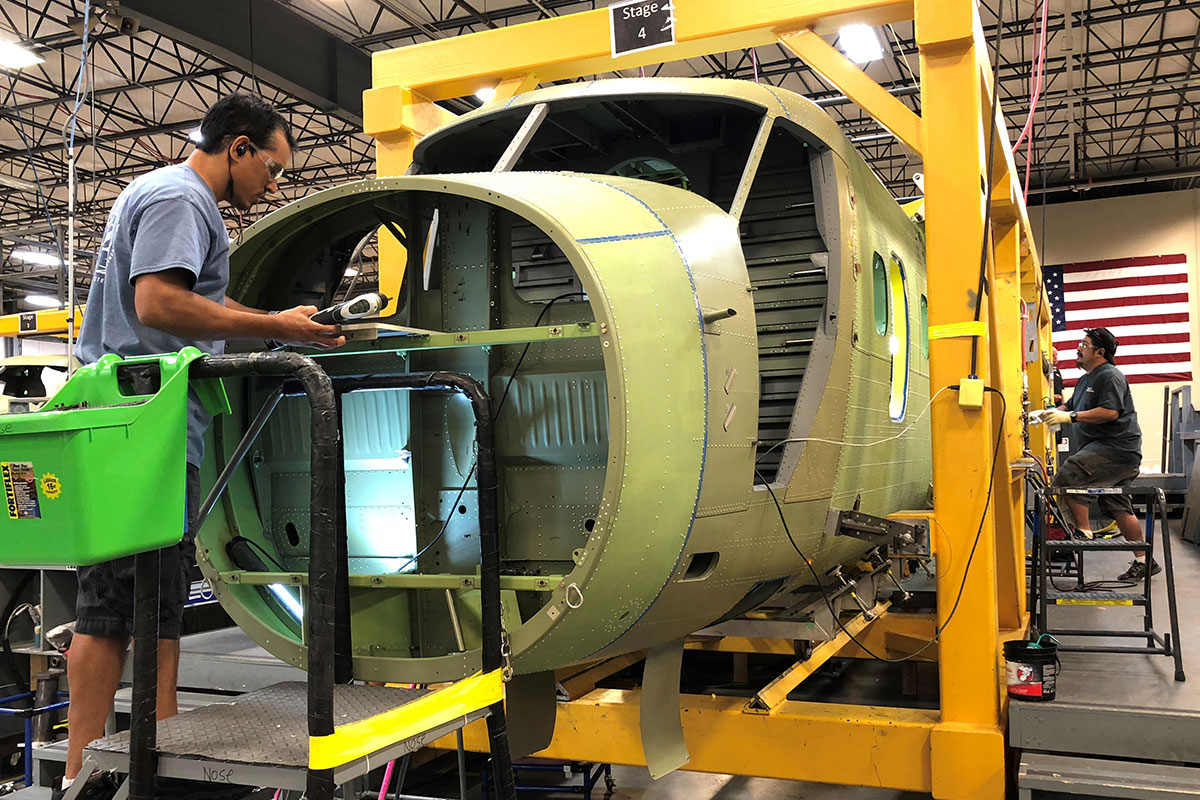 Lee Aerospace Aerostructures Sheet Metal Assemblies