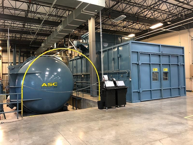 aviation composites autoclave & oven