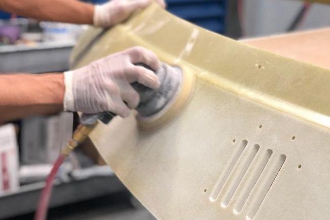 composite sanding