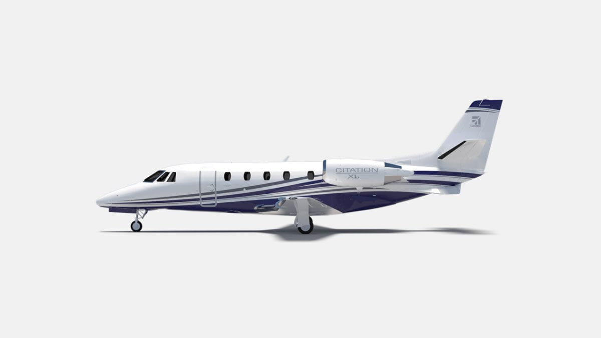 Citation XL clean air system