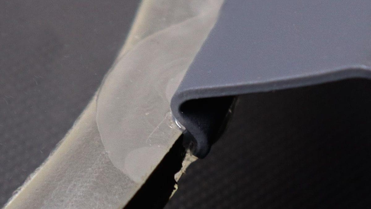 damaged window clip