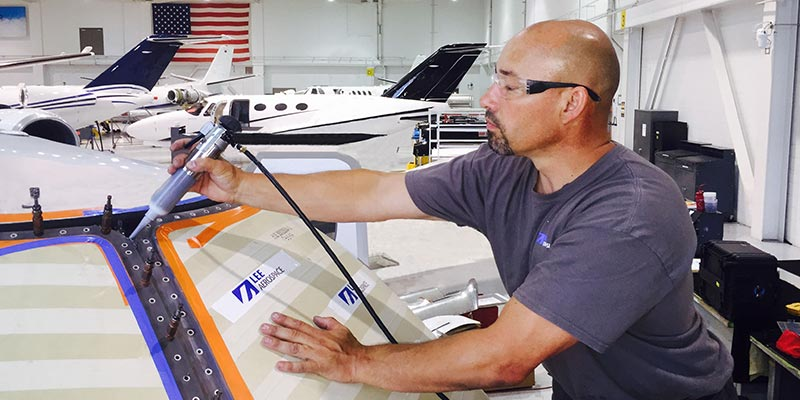 Aircraft window repair