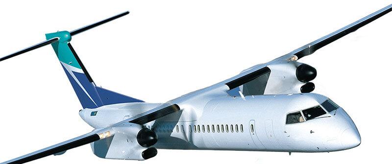 Bombardier Dash 8 cockpit windows