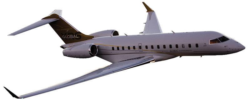 Bombardier Global Express Windows