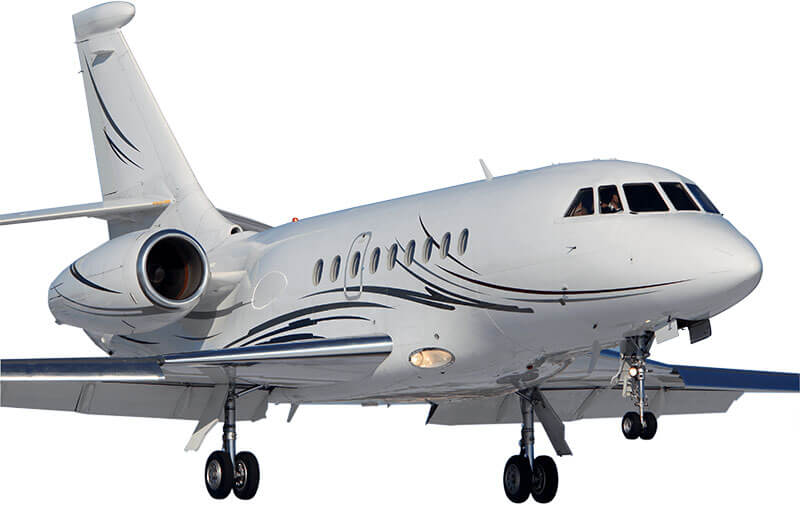 Dassault Falcon transparencies
