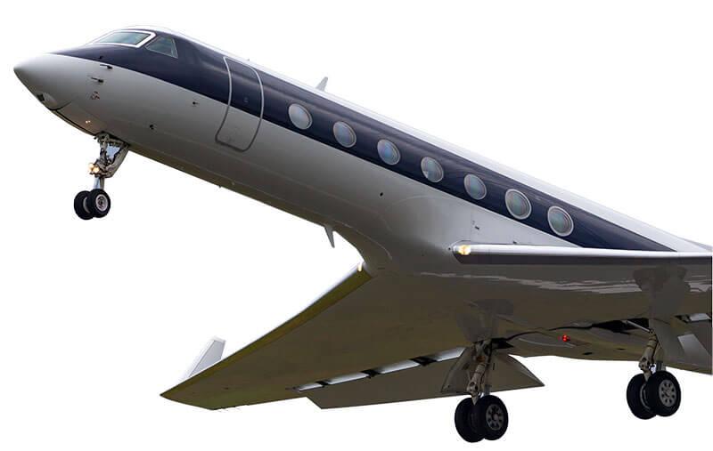 Gulfstream GV 550 windows