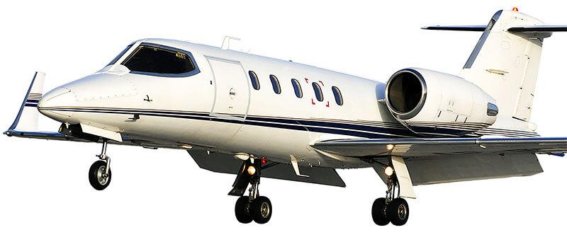 Learjet 20/30 windows