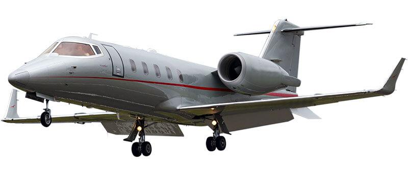 Learjet 55 windows