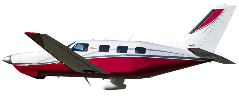 Piper PA46 windows